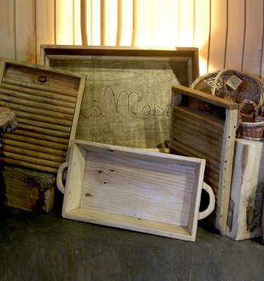 Muebles y Objetos de Madera Reciclada
